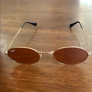 Pink oval raybands
